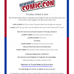 New York Comic Con Trip, October 9th