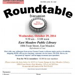 Support Staff Division Roundtable Discussion, Wednesday, October 29th