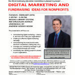 Digital Marketing and Fundraising Ideas for Nonprofits, March 24th