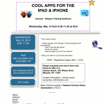Cool Apps for the iPad and iPhone