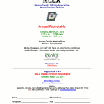 2015 Media Services Division Roundtable, March 24th