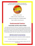 Eternal Con: Controversial Comics: Censorship and Pop Culture Media, June 14