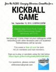 Kickball Game, September 10th