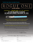 Star Wars: Rogue One, December 18