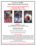 LILC: Too Hot to Handle? Adult Graphic Novels in the Library, May 7th