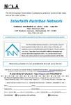 Interfaith Nutrition Network