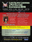 LIPopCon 2016 – Early Bird Registration Ends March 11!