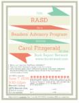 Readers' Advisory Program, June 7th