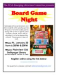 Board Game Night, January 20th