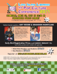 Cancelled – Long Island Libraries and Pop Culture Conference, March 15