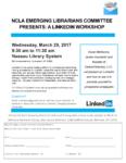 LinkedIn Workshop, March 29th