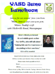 June 8th, YASD June Luncheon: Author Paul Griffin