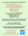 Kickball Game, June 10th