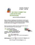 Retiree Committee Luncheon and Bookshare