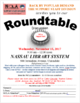 Support Staff Division Offering Roundtable Discussion