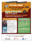 LIPopCon 2018: Long Island Libraries and Pop Culture Conference, April 13 (Cancelled)
