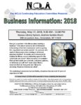NCLA Continuing Education Committee presents: Business Information 2018