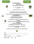 NCLA Retiree Committee presents: LUNCHEON AND WORKSHOP: Gardening Without Plants