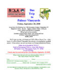 NCLA Support Staff Division presents: Bus Trip to Palmer Vineyards