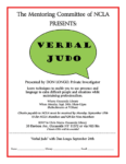 NCLA Mentoring Committee presents Verbal Judo!