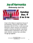A musical event courtesy of Uniondale Public Library!