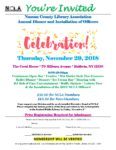 Nassau County Library Association Annual Dinner and Installation of Officers