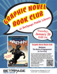Graphic Novel Book Club at the Bethpage Public Library