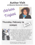 Author Visit Adriana Trigiani at the Mineola Memorial Library