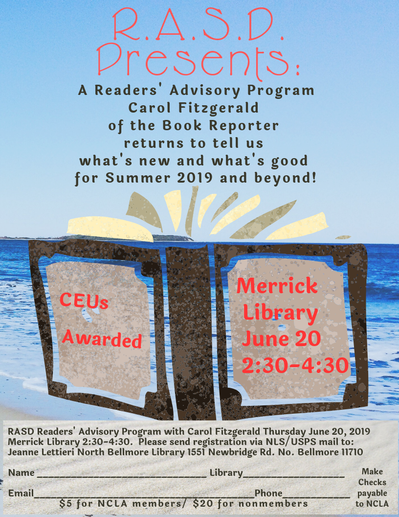 RASD - June 20th - Readers Advisory Program - NCLA